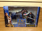 2002 Lord of the Rings ROTK Aragorn / Brego Horse Deluxe Set **Sealed Clean Box!