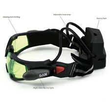 New Adjustable Elastic Band Night Vision Goggles Glasses Eye Shield With LED US