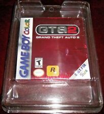 Grand Theft Auto 2  (Nintendo Game Boy Color, 2000) GTA 2 IN A PLASTIC PROTECTOR
