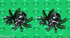 Lego 2x Silver Chrome Spider (30238) NEW!!!