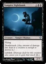 VAMPIRE NIGHTHAWK Commander 2013 MTG Black Creature — Vampire Shaman Unc