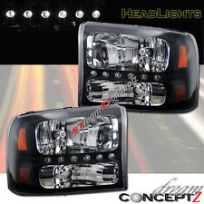 99-04 FORD F250 F350-SUPERDUTY EXCURSION HEADLIGHTS CORNER 1 PCS w/ LED PARKING