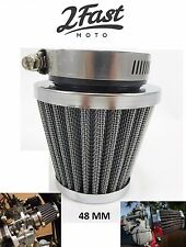 Honda Chrome Air Filter CB250 CB400 CBX550 CB 48mm