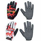 New Hyun Thin Full Finger Men's Outdoor Sports Cycling Bike Bicycle Gloves HBT15