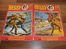 BESSY  Doppelband  # 58 -- der Hundemensch+Kapuzenmann ( # 113+118) mit Cover