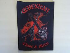 GEHENNAH CHAOS & METAL SUBLIMATED BACK PATCH