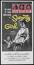 SORORITY GIRL Movie POSTER 14x36 Insert Susan Cabot Dick Miller Barbara Crane
