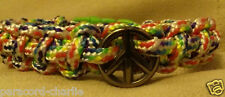 Peace Sign Paracord Bracelets - Design your own! Various Combinations Available!