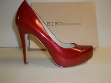 BCBG BCBGeneration Size 6 M Parade Red Platform Pump Heels New Womens Shoes