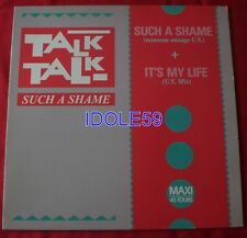 Talk Talk, such a shame (us mix) / it's my life (us mix), Maxi Vinyl