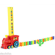 Domino Set  Rally Toy Train Rack Them Up & Knock Them Down Ideal Birthday Gift