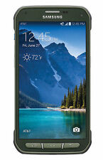 Samsung Galaxy s5 active g870a at & t GSM 4g LTE 16gb Android Smart Phone Green