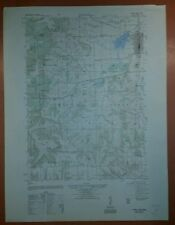 1940's Army Topo Map Tomah Wisconsin  2871 I NE Camp McCoy