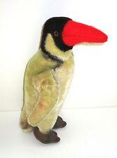STEIFF PINGUIN Peggy 20 cm alt Steifftier Plüsch 60er Jahre mit Holzwolle