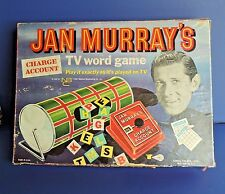 Jan Murray's TV Game Charge Account TV Word Game NBC Logo 1961 Original