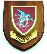 AIRBORNE PARA RAMC ARMY MEDICAL CORPS CLASSIC HAND MADE REGIMENTAL MESS PLAQUE