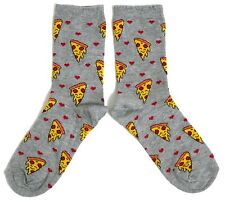 LADIES PIZZA LOVER SOCKS UK SIZE 4-8 EUR 37-42 USA 6-10