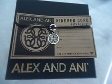 Authentic Alex and Ani  PATH OF LIFE  Kindred Cord Pull  Bracelet New W/  Box