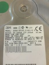IBM DCAS-32160 2.1 GB 80 Pin SCSI HDD