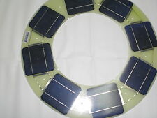 Placa solar de 13 watios 4,2v 3,3Amp  mono (esp. 3mm) ideal farola Semi flexible