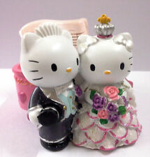 HELLO KITTY & DEAR DANIEL Piano Shape RESIN Multiple Use Container Nice Gift
