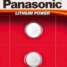 2 X PANASONIC CR2032 2032 COIN CELL 3V LITHIUM BATTERIES FOR TOYS AND CAR KEYS