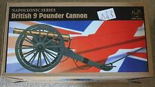 did british napoleonic 9 pounder cannon waterloo 1/6 12'' l boxed toy dragon