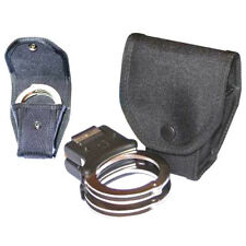 H5 Protec Police new black folding hand cuff holder