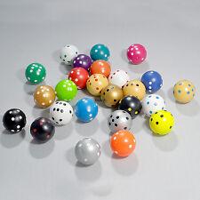 50 Rundwürfel im Mix von jeder Farbe zwei, 21,5 mm, Spiele + Würfel von Frobis