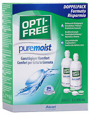 OPTI-Free PureMoist 2x300ml All-in-one soluzione di Alcon