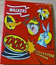 Tazo Collectors Folder - 70/70 FULL SET and World Tazos - Walkers - Free Postage