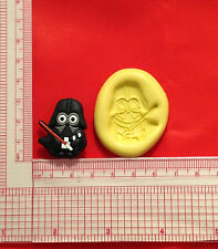 Star Wars Minion Character Silicone Mold A838 Candy Chocolate Craft Fondant Wax