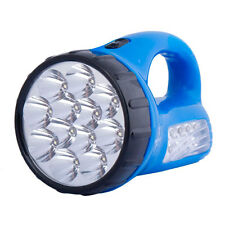 Portable Rechargeable Brightness 12+10 Pcs LED Flashlight Electric Torches Lamp