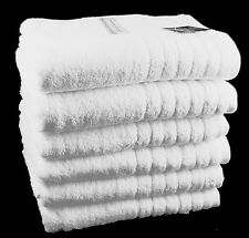 Egyptian Cotton Bath Towels White 525 GSM Pack Set of 3