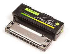 Genuine New Lee Oskar 1910 Natural Minor Harmonica or Harp. Key of D Flat Minor