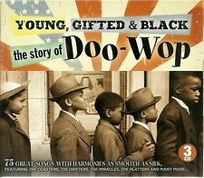 YOUNG, GIFTED & BLACK THE STORY OF DOO WOP - 3 CD BOX SET, THE COASTERS & MORE