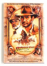 Indiana Jones and the Last Crusade FRIDGE MAGNET (2 x 3 inches) movie poster