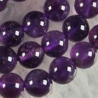 10mm Russican Amethyst Gemstone Round Loose Beads 15''