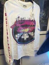 METALLICA - Master of Puppets - WHITE longsleeve official t-shirt XL Elevenparis
