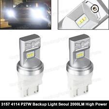 3157 3156 White 60W High Power Seoul LED Light Reverse Backup Bulb x 1Pair