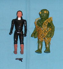 vintage Battlestar Galactica BALTAR + OVION action figure lot
