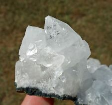 Nice Natural Apophyllite & Clear Quartz Crystal Healing Cluster Points Grounding