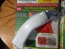 Debbie Meyer GeniusVac Vacuum Seal Food Storage System Reynolds Handi-Vac & Bags