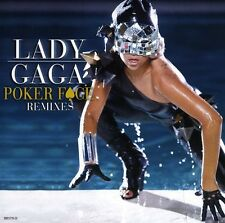 Poker Face Remixes - Lady Gaga (2009, CD Maxi Single NUEVO)