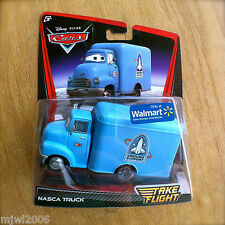 Disney PIXAR Cars TAKE FLIGHT NASCA TRUCK Cars TOONS Moon Mater blue outerspace