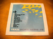 Cardsleeve full cd Warp Trax hors serie 6 (PROMO) 13TR 2003 abstract techno down