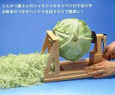New calibration Beck Japanese Super Large Vegetable Turning Slicer made in JAPAN