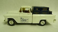 RARE ERTL #9 LIM ED EASTWOOD CO 55 CHEVY CAMEO PICKUP BANK #1482 WHT/BLU SH3D