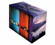 Harry Potter The Complete Collection 7 Books Set Collection J.K. Rowling Purple