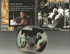 Spm SOUTH PARK MEXICAN I must be High /Bloody 3TRX CLEAN EDIT PROMO DJ CD single